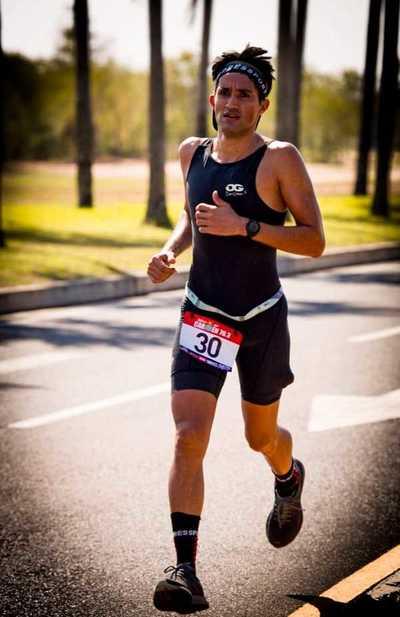 Triatlón, destacable victoria de Aranda