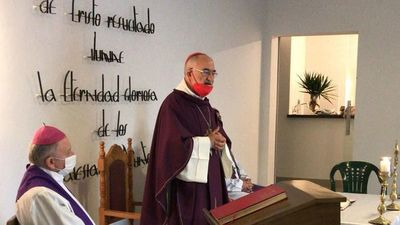 Cardenal López llegó y hoy va a  Concepción