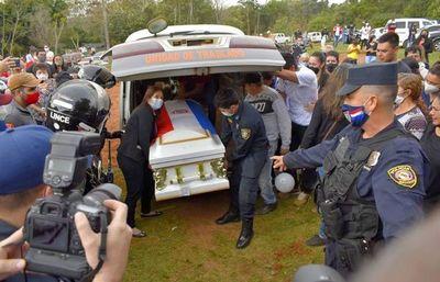 Cuerpo de Leidy llega a su ciudad natal en el Guairá