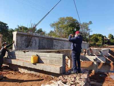 Construcción de segundo puente en San Antonio superó el 75% de avance