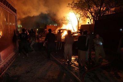 Al menos 13 muertos, entre ellos nueve chinos, tras un atentado en Pakistán
