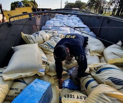 Cae camión con 2.700 kilos de MARIHUANA que se CARGO en la frontera CDE-FOZ