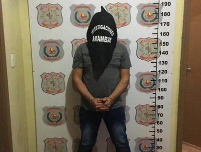 Detienen a guardiacárcel por varios asaltos en Amambay · Radio Monumental 1080 AM