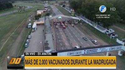 El ex Aratirí se descomprime luego de liberar otros 15 vacunatorios