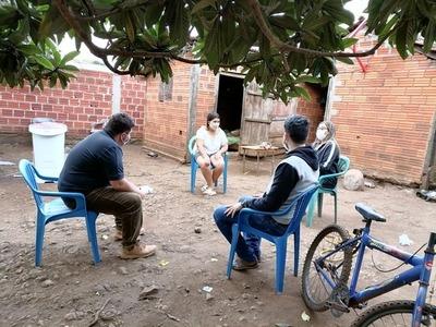 Más de 60 familias de Itapúa serán incluidas en el programa Abrazo