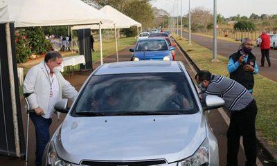 Salud Pública habilita autovac en Costanera de Hernandarias con apoyo de Itaipu