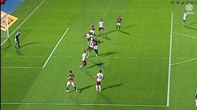 Conmebol admite el error del VAR en el gol anulado a Cerro Porteño
