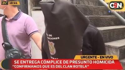 Se entrega cómplice del asesinato de hijo de agente de la Senad