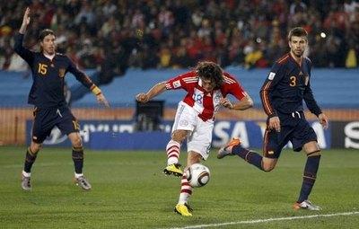 Nelson Haedo habla de su gol anulado frente a España en Sudáfrica 2010