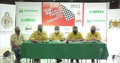 Presentan la edición XXXII del GP del Paraguay de Autos Clásicos