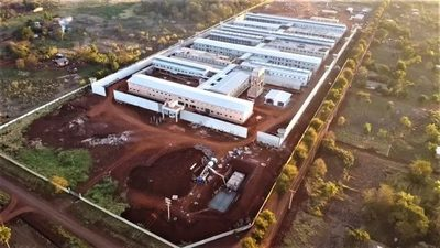 Construcción de nueva penitenciaría en Minga se encuentra en etapa final