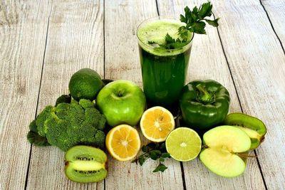 Los jugos verdes no queman grasas