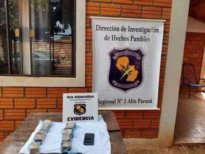 Detienen a una mujer e incautan marihuana en Presidente Franco