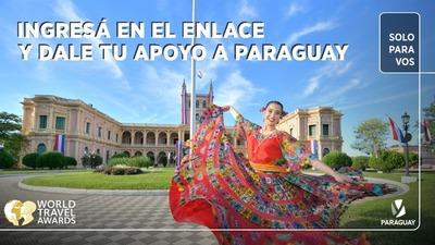 Nominan al Paraguay para los premios del Turismo Mundial 2021