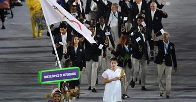 """La Nación / El equipo olímpico de refugiados, una """"fuente de inspiración"""""""