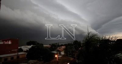 La Nación / Anuncian tiempo severo con frente frío desde mañana jueves