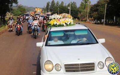 Emotivo último adiós a Leidy Luna en Guairá •