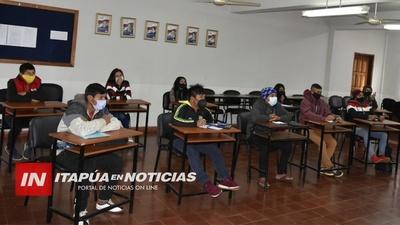 UNIVERSITARIOS INDÍGENAS RECIBEN CLASES DE REFUERZO EN LA CATÓLICA.