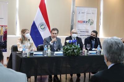 REDIEX lanzó plataforma online para promocionar la oferta exportable de Paraguay
