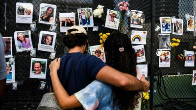 Aumentan a 96 las muertes por el derrumbe en Miami