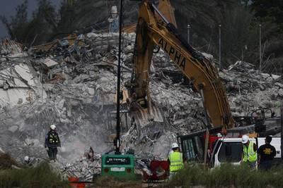 Miami: número de muertos por colapso de edificio subió a 96