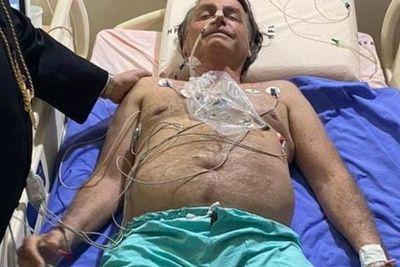 El cuadro de Bolsonaro es más grave y lo trasladan a San Pablo para una posible operación
