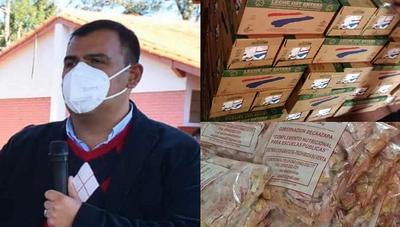 Caazapá: Merienda Escolar llegó al distrito de Buena Vista