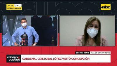 Cardenal Cristóbal López visitó Concepción