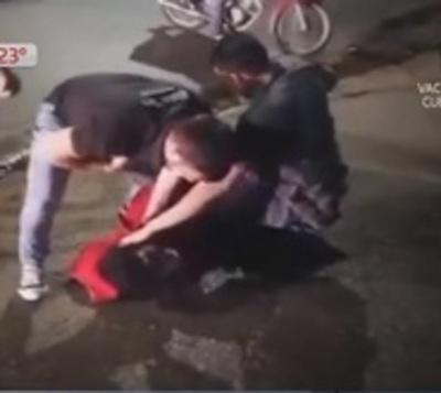 Justicia urbana: Detienen a supuesto ladrón