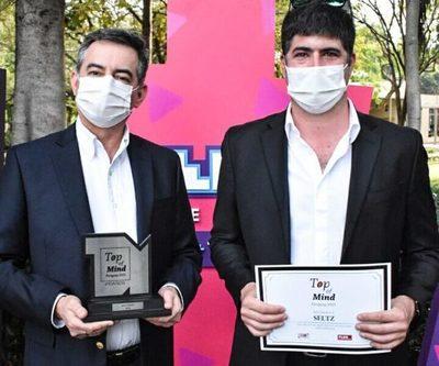 Agua Seltz gana el Top Of Mind en la categoría 'Agua Mineral'