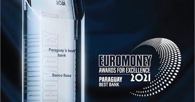 La Nación / Banco Basa es reconocido como Mejor Banco de Paraguay 2021