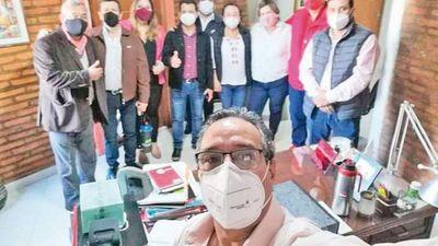 Blanquean a Hugo Javier en  Junta de Central con  ayuda de un liberal