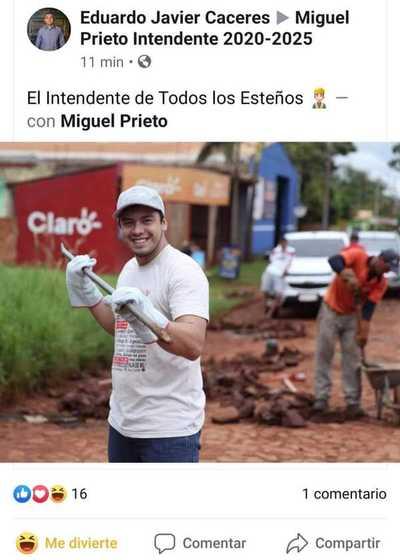 """Intendente de CDE comenzó campaña para el """"REKUTU"""" con recursos municipales"""