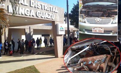 Ladrones roban piezas de vehículos mientras sus dueñas esperaban inocularse en vacunatorio – Diario TNPRESS