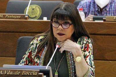 """Para diputada es """"indignante la lista de gastos"""" de la Itaipú"""