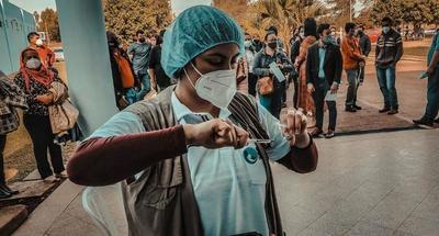 Covid-19; Ayer lograron aplicar 5.352 dosis en los 5 vacunatorios del departamento del Caaguazú – Prensa 5
