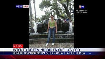Reportan intento de feminicidio en Coronel Oviedo