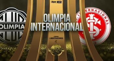 Partido de ida por los octavos de final, Olimpia recibe hoy al Inter en el Manuel Ferreira desde las 20:30