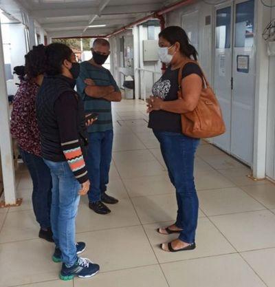 Médicos del Pabellón Respiratorio del Hospital Regional brindan información falsa