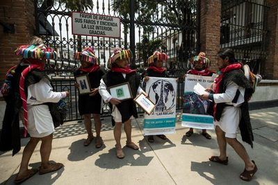 Detienen a presunto asesino de un líder indígena defensor de DD.HH. en México
