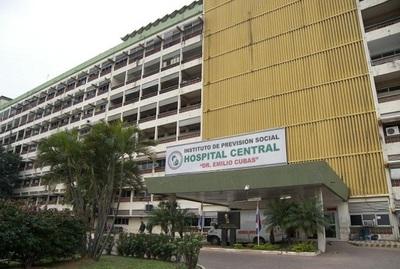 Notifican al IPS por falta de mantenimiento en el Hospital Central