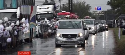 Triste arribo de la familia Pettengill-López Moreira