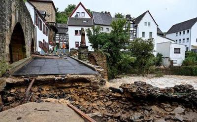 Al menos 42 personas murieron en Alemania por fuerte temporal que afectó a Bélgica y Holanda