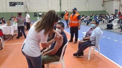 Ayer se cerró cifra récord de 109.205 vacunados en un solo día