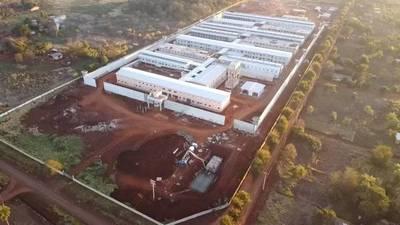 Construcción de la nueva cárcel de Minga Guazú presenta avance del 88%