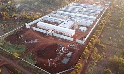 Alto Paraná: Nuevo centro penitenciario presenta avance del 88%