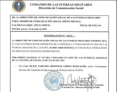 Cambian al comandante del CODI tras secuestro y asesinato de Jorge