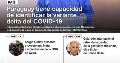 La Nación / LN PM: Las noticias más relevantes de la siesta del 15 de julio