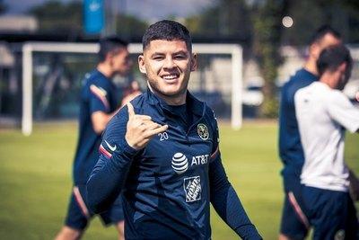 La bienvenida del América a Richard Sánchez tras la Copa América