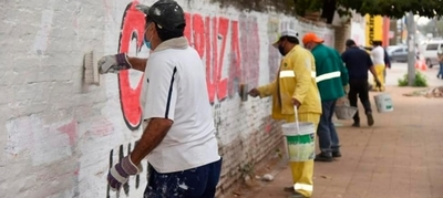 Retiran propaganda electoral extemporánea en la Capital